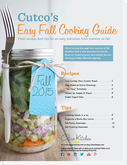 Download cutco 39 s easy fall cooking guide for Fall cooking tips