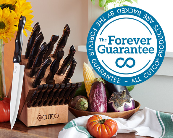 Cutco Cutlery: Everything is Guaranteed Forever
