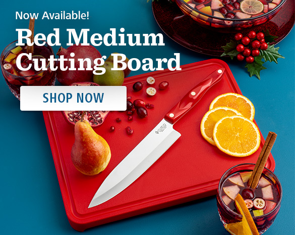 NEW! Red Cutting Board