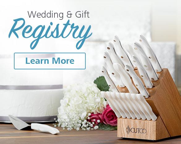 Cutco's Wedding and Gift Registry