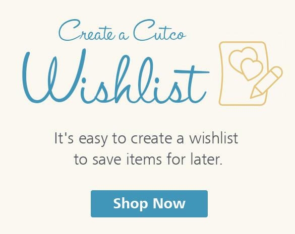 Cutco Wishlist