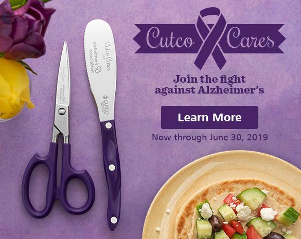 Cutco Cares | The Alzheimer's Association