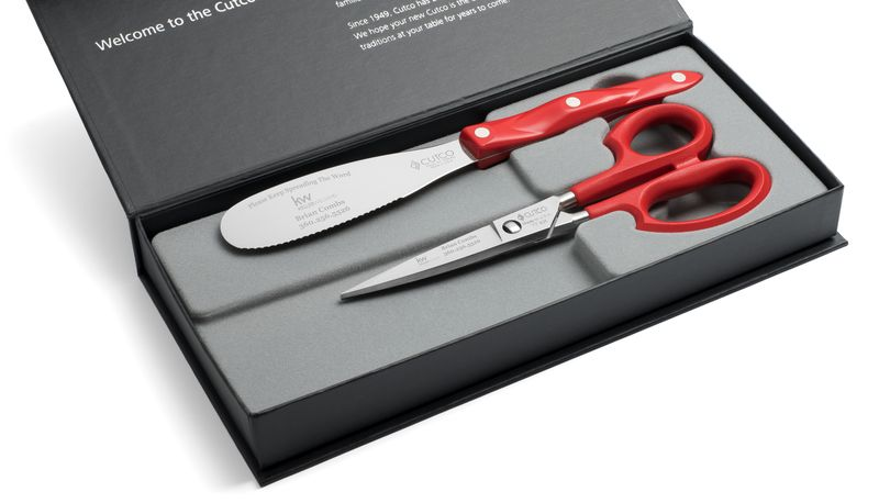 2 Products in Gift Box - Spatula Spreader, Super Shears,