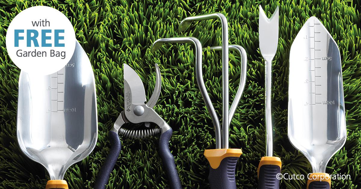 5-Pc. Garden Tool Set w/FREE Garden Bag   Garden Tools by ...