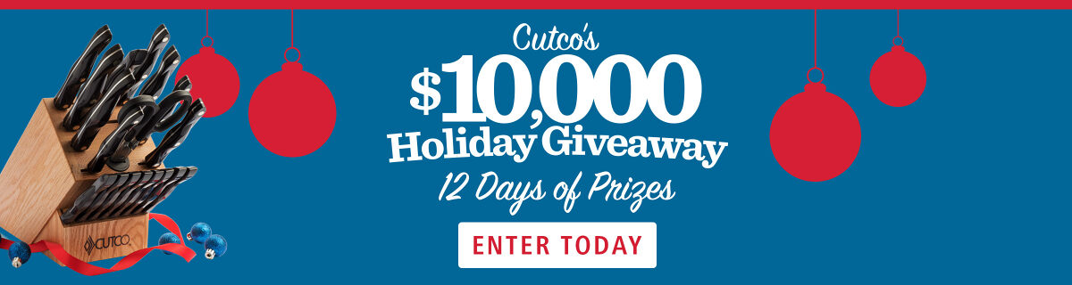 Cutco's $10,000 Holiday Giveaway!