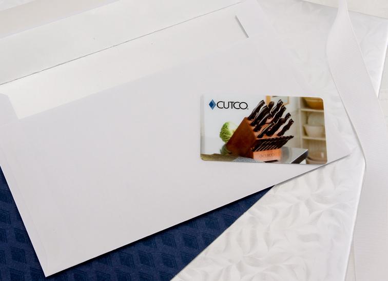 Cutco's Gift Card