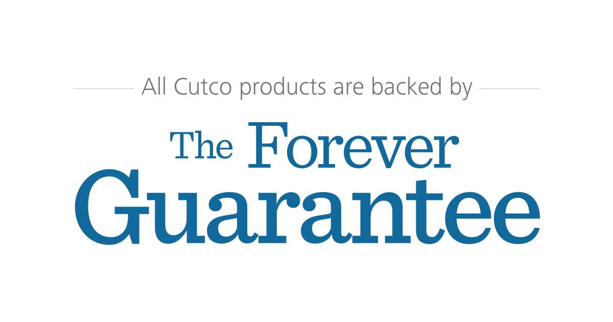 The Cutco Forever Guarantee