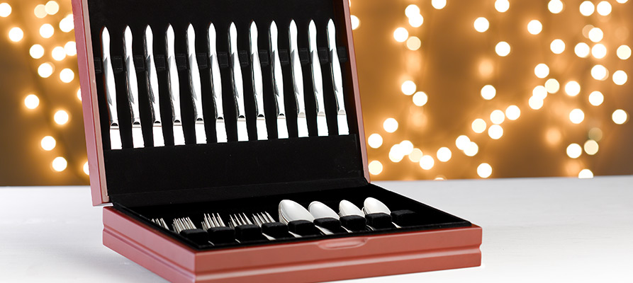 60-Pc. Stainless Place Settings