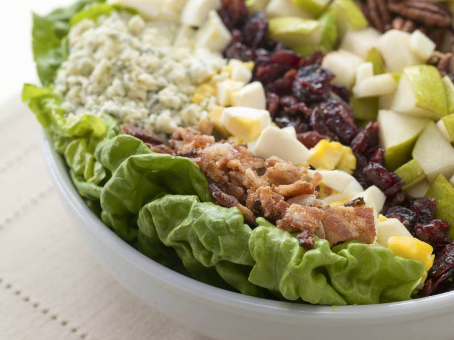 cobb-salad-apple-pear