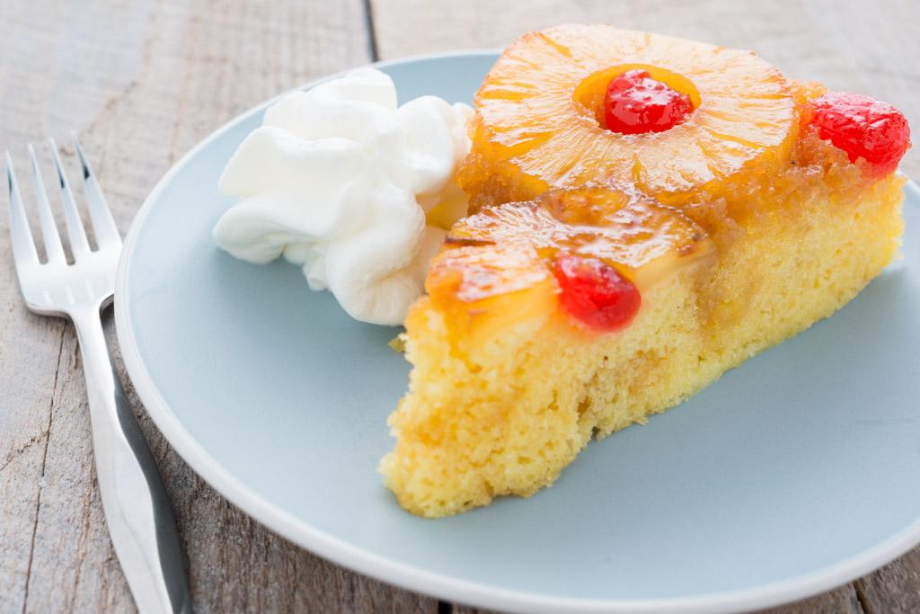 Stovetop Pineapple Upside-Down Cake