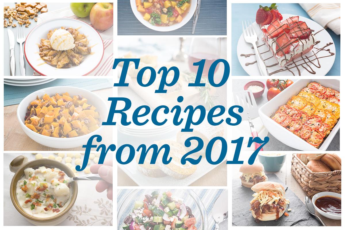 10 Most Popular Cutco Kitchen Recipes from 2017
